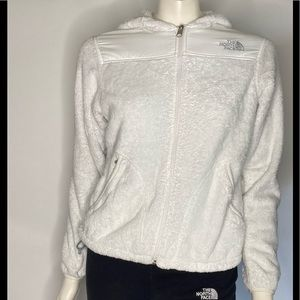 The North Face Soft Zip up Hooded Jacket Sz Small